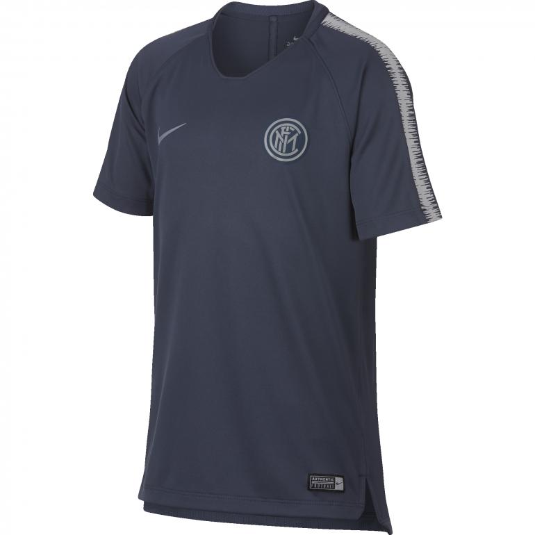 Maillot entrainement junior Inter Milan gris 2018/19