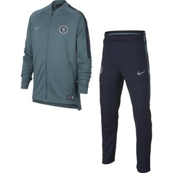 Ensemble survêtement junior Chelsea bleu gris 2018/19
