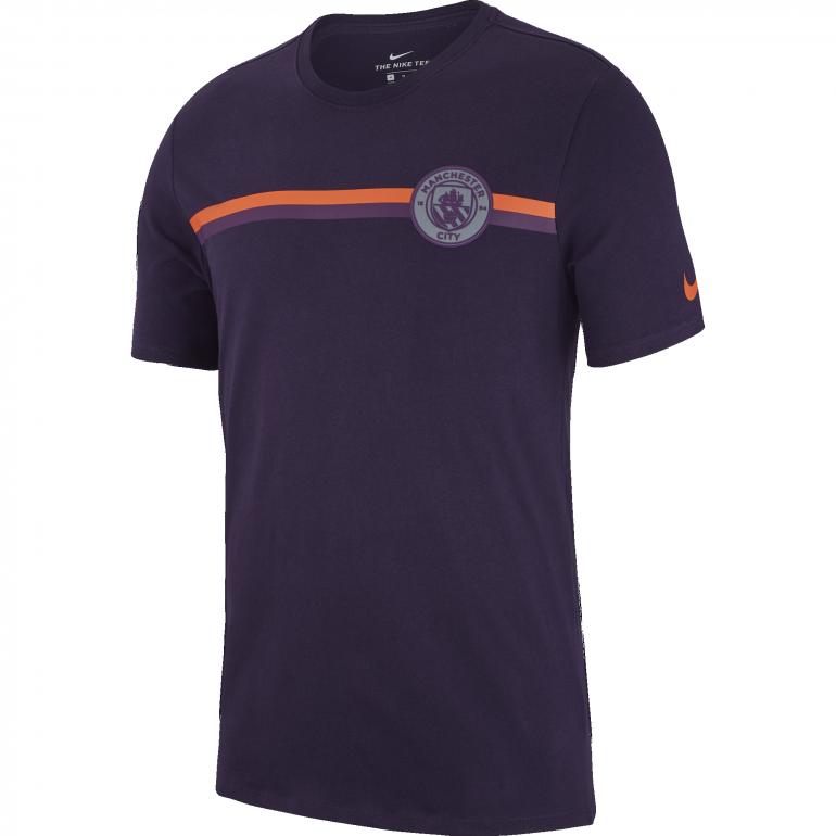 T-shirt Manchester City violet 2018/19