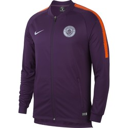 Veste survêtement Manchester City violet 2018/19