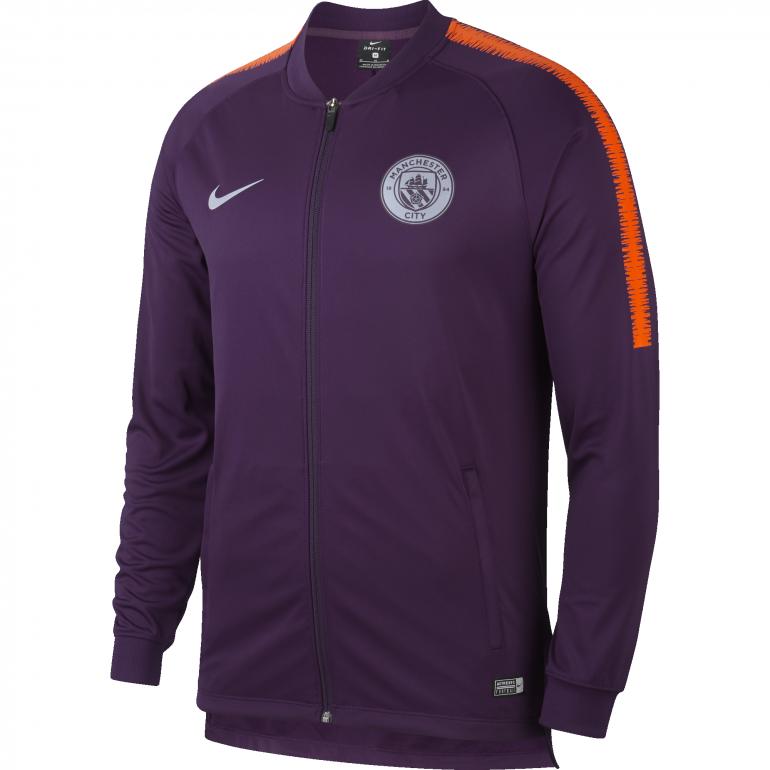 Veste survêtement Manchester City violet 2018/19
