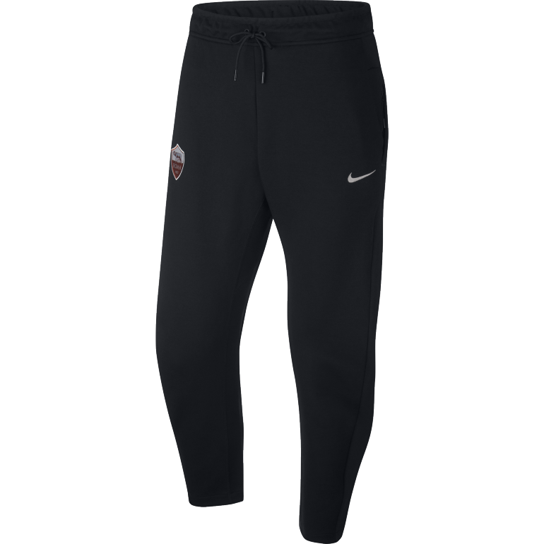 14bf301d19740 Pantalon survêtement AS Roma Tech Fleece noir 2018/19 sur Foot.fr