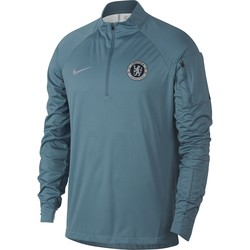 Sweat zippé Chelsea AeroShield bleu 2018/19