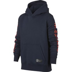 Sweat à capuche junior Chelsea noir 2018/19