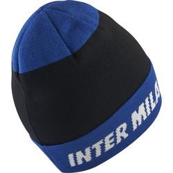 Bonnet Inter Milan noir bleu 2018/19