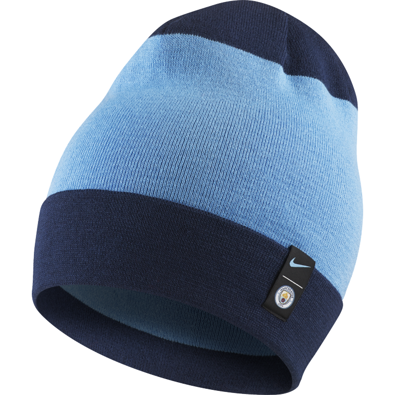 Bonnet Manchester City bleu 2018/19