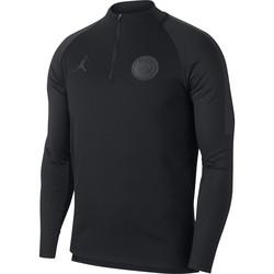 Sweat zippé PSG Jordan noir 2018/19