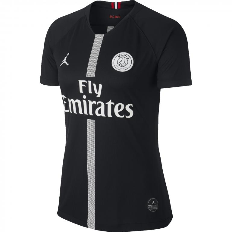 Maillot Femme PSG Jordan third noir 2018/19