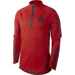 Sweat zippé PSG Jordan AeroShield rouge 2018/19