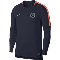 Sweat entrainement Chelsea bleu orange 2018/19