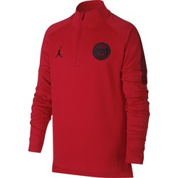 Sweat zippé junior PSG Jordan rouge 2018/19