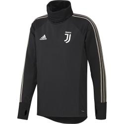 Sweat col montant Juventus noir 2018/19