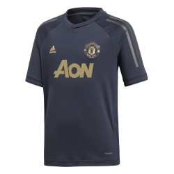 Maillot entraînement junior Manchester United Europe noir 2018/19