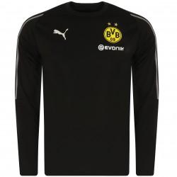 Sweat entraînement Dortmund noir 2018/19