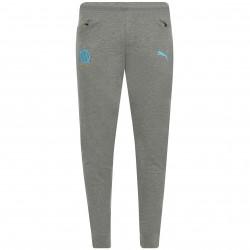 Pantalon survêtement OM Casual gris 2018/19