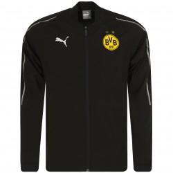 Veste survêtement Dortmund noir 2018/19