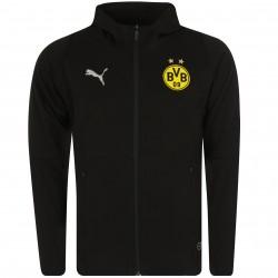 Veste survêtement Dortmund Casual noir 2018/19