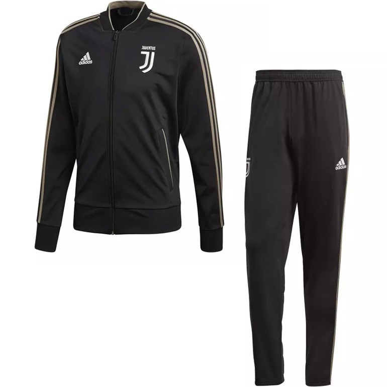 ensemble de foot Juventus noir