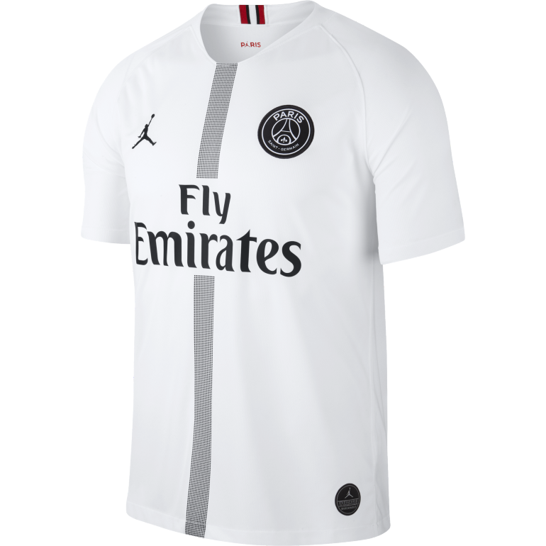 maillot psg jordan third blanc 2018 19 sur. Black Bedroom Furniture Sets. Home Design Ideas