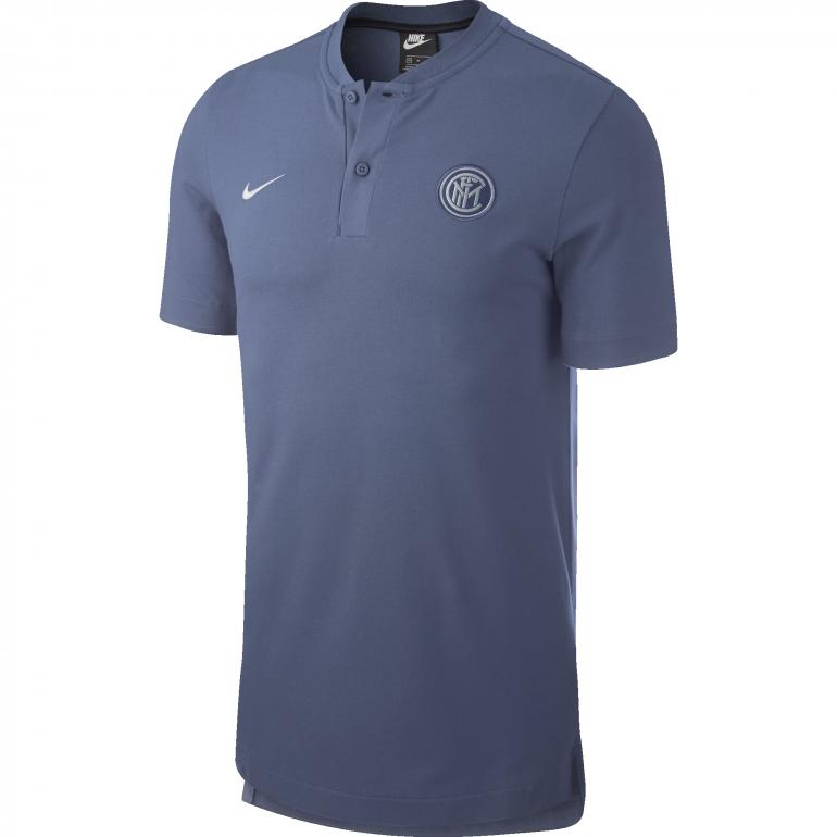 Polo Inter Milan authentique gris 2018/19