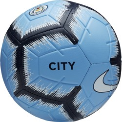 Ballon Manchester City Strike bleu 2018/19