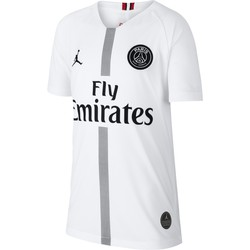 Maillot junior PSG Jordan third blanc 2018/19