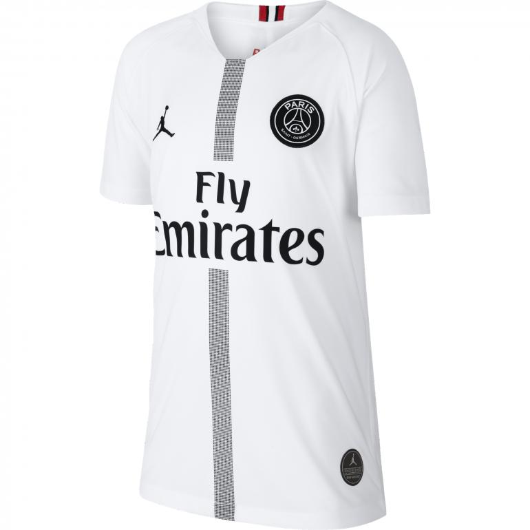 Maillot junior PSG Jordan third blanc 2018/19