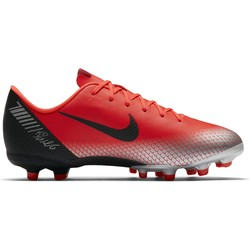 Mercurial Vapor XII CR7 junior Academy FG/MG rouge
