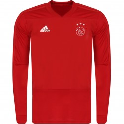Sweat entraînement Ajax Amsterdam rouge 2018/19
