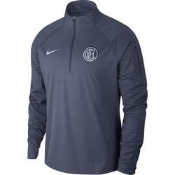 Sweat zippé Inter Milan Aeroshiel bleu 2018/19