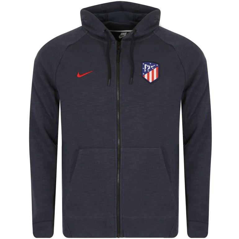 Veste survêtement Atlético Madrid Tech Fleece gris 2018/19