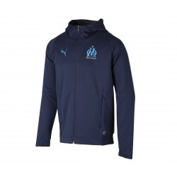 Veste survêtement junior OM casual 2018/19