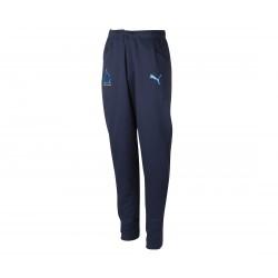 Pantalon survêtement junior OM casual bleu foncé 2018/19