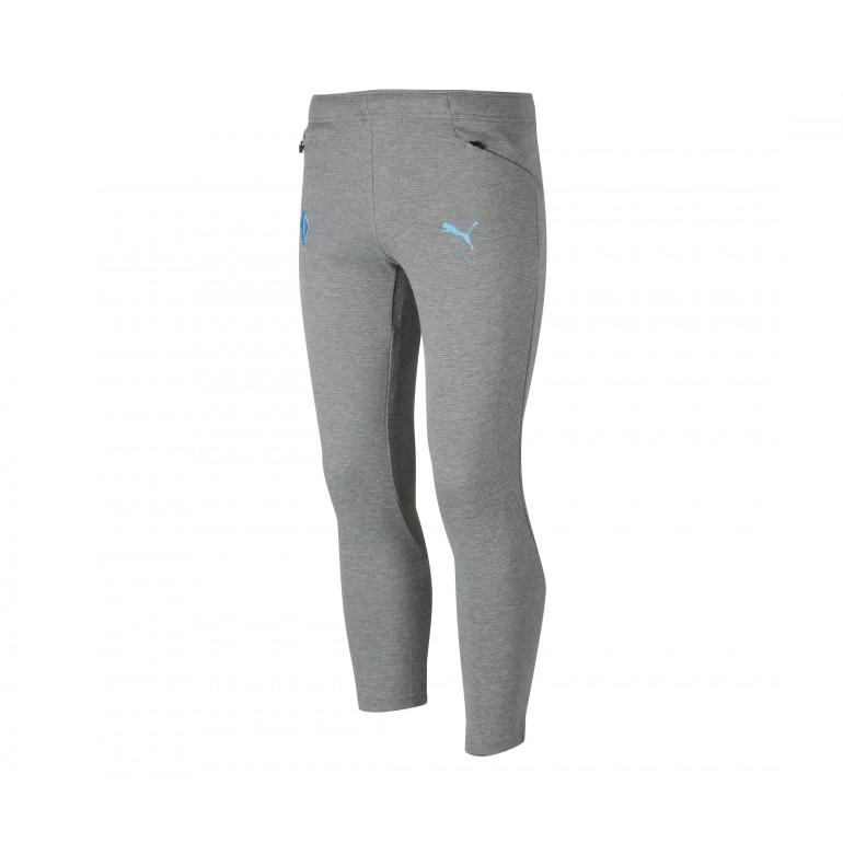 Pantalon survêtement junior OM casual gris 2018/19