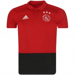 Polo Ajax Amsterdam rouge 2018/19