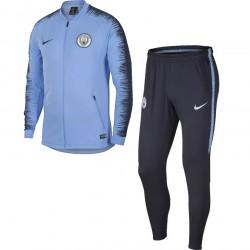 Ensemble survêtement Manchester City bleu 2018/19