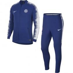 Ensemble survêtement Chelsea bleu blanc 2018/19