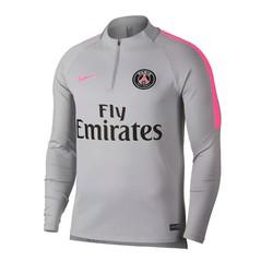 Sweat zippé PSG gris rose 2018/19