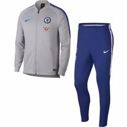 Ensemble survêtement Chelsea bleu gris 2018/19