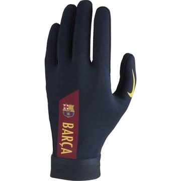 Gants joueurs FC Barcelone HyperWarm bleu 2020/21