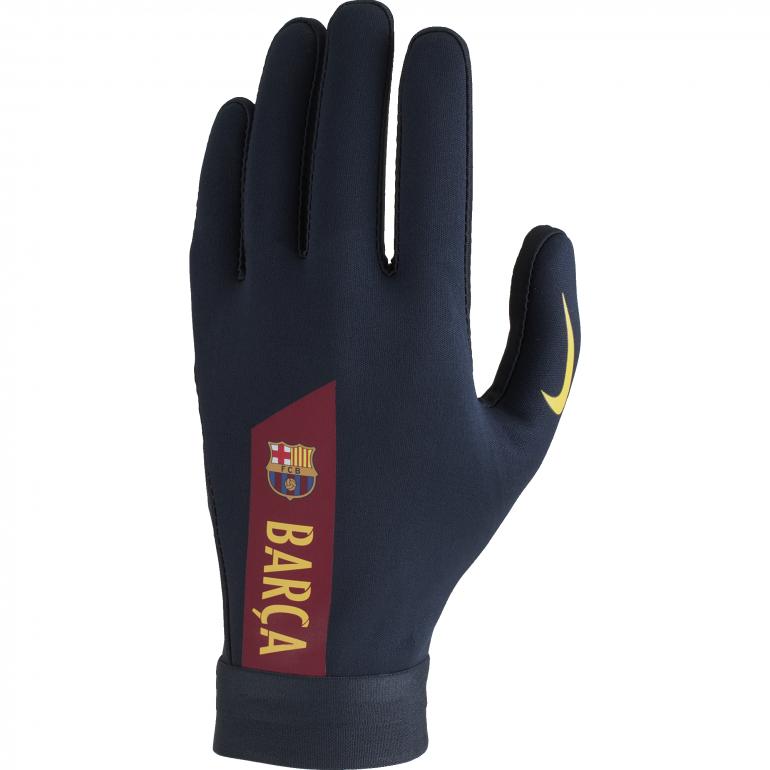 Gants joueurs FC Barcelone HyperWarm bleu 2018/19