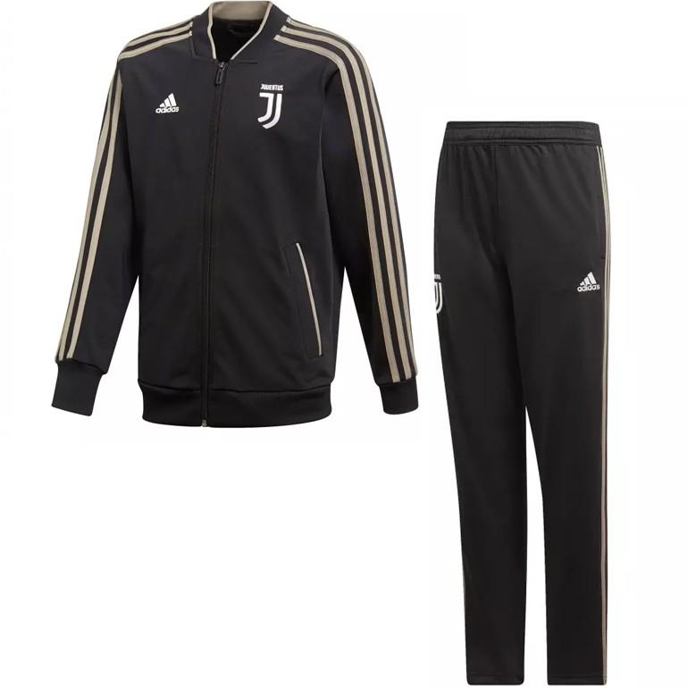 Ensemble survêtement junior Juventus noir 2018/19