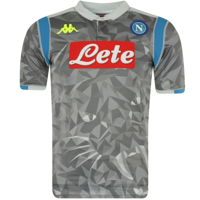 Maillot Naples Ligue des Champions third 2018/19