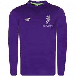 Sweat zippé entraînement Liverpool Elite violet 2018/19