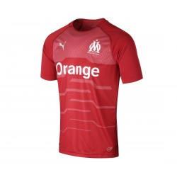 Maillot Gardien junior OM rouge 2018/19