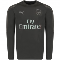 Sweat entraînement Arsenal gris 2018/19