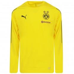 Sweat entraînement junior Dortmund jaune 2018/19