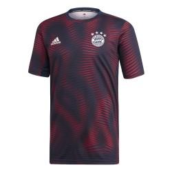 Maillot avant match Bayern Munich bleu rouge 2018/19