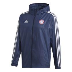 Coupe vent Bayern Munich bleu 2018/19