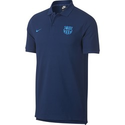 Polo FC Barcelone bleu 2018/19